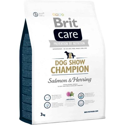 Brit Care Dog Show Champion Köpek Maması Somonlu 3 Kg