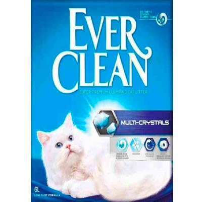 Ever Clean Multi Crystal Blend Multi Kristal Karışım Kedi Kumu 6 lt