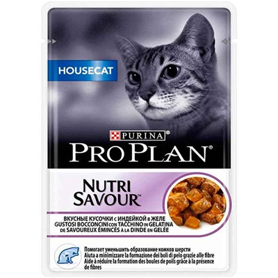 Proplan Housecat Hindi Etli Kedi Konservesi 85 Gr