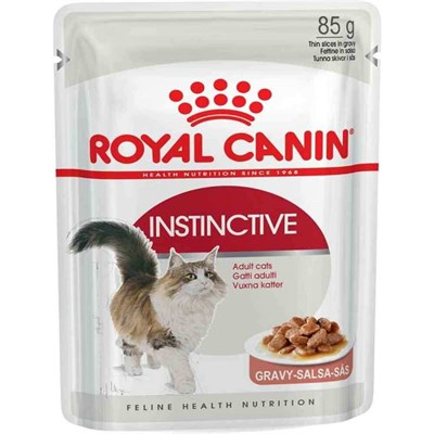 Royal Canin İnstinctive Gravy Kedi yaş Mama 85 Gr 9003579308936 Royal Canin Yetişkin Kedi Konserve Mamaları Amazon Pet Center