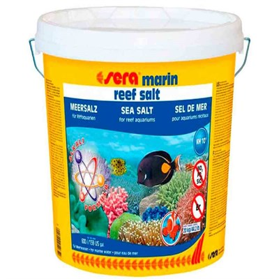 Sera Marin Reef Salt Deniz Tuzu 20 Kg 4001942054652 Sera Deniz Akvaryumu Tuzları Amazon Pet Center