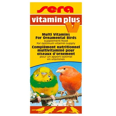 Sera Vitamin Plus V Kuşlar İçin Vitamin 15 ml